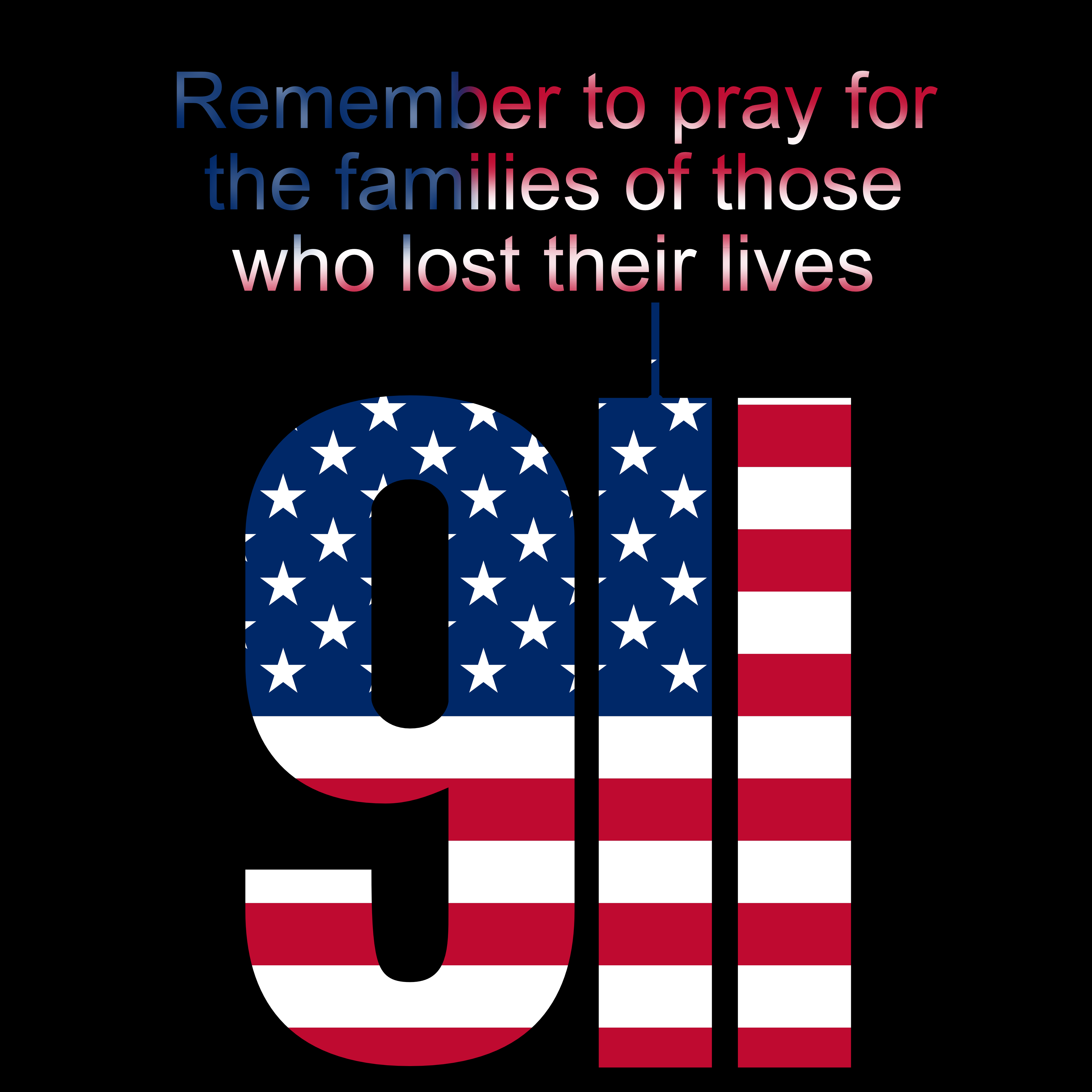 Reflecting on 9/11 and praying for their families